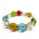 Multi Color Crystal Bracelets