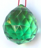Green Crystal Balls