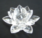 Clear Crystal Lotus