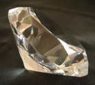 Clear Crystal Paperweight