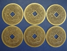 6 of Dragon Phoenix Coins