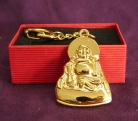 Metal Buddha Key Chain