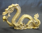 Brass Metal Dragon Statue