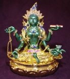 Bejeweled Fertility Green Tara