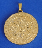 Eight Auspicious Objects Pendant for Protection