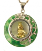 Golden Rabbit Pendant