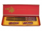 Cherry Chopstick Gift Set with Dragon Pictures
