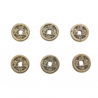 6 of I ching Coins