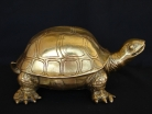 Big Brass Turtle Statue