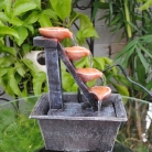 Four-Tier Cascading Fountain