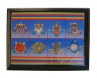 Eight Auspicious Symbols Plaque