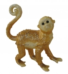 Bejeweled Golden Monkey Statue