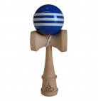 Triple Blue/White Stripe Kendama