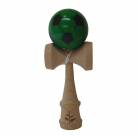 Black/Green Soccer Kendama