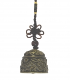 Bell Charm with Dragon Image