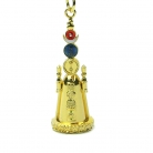Sun Moon 5 Element Pagoda Keychain