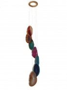7 Agate Slabs Wind chime