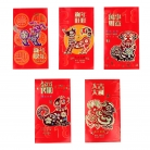 Big Colorful Chinese Money Red Envelopes for Year of the Dog