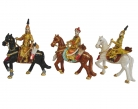 3 Great Emperors on Horseback