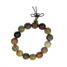 Multi_Color Wood Beaded Bracelet for Men