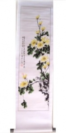 Chrysanthemum Scroll Picture